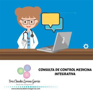 Consulta de Control Medicina Integrativa