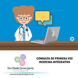 Consulta de Primera vez Medicina Integrativa