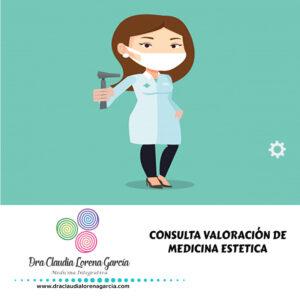 Consulta Valoración de Medicina Estética